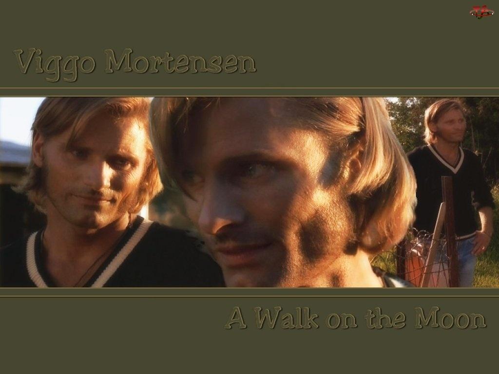długie włosy, Viggo Mortensen