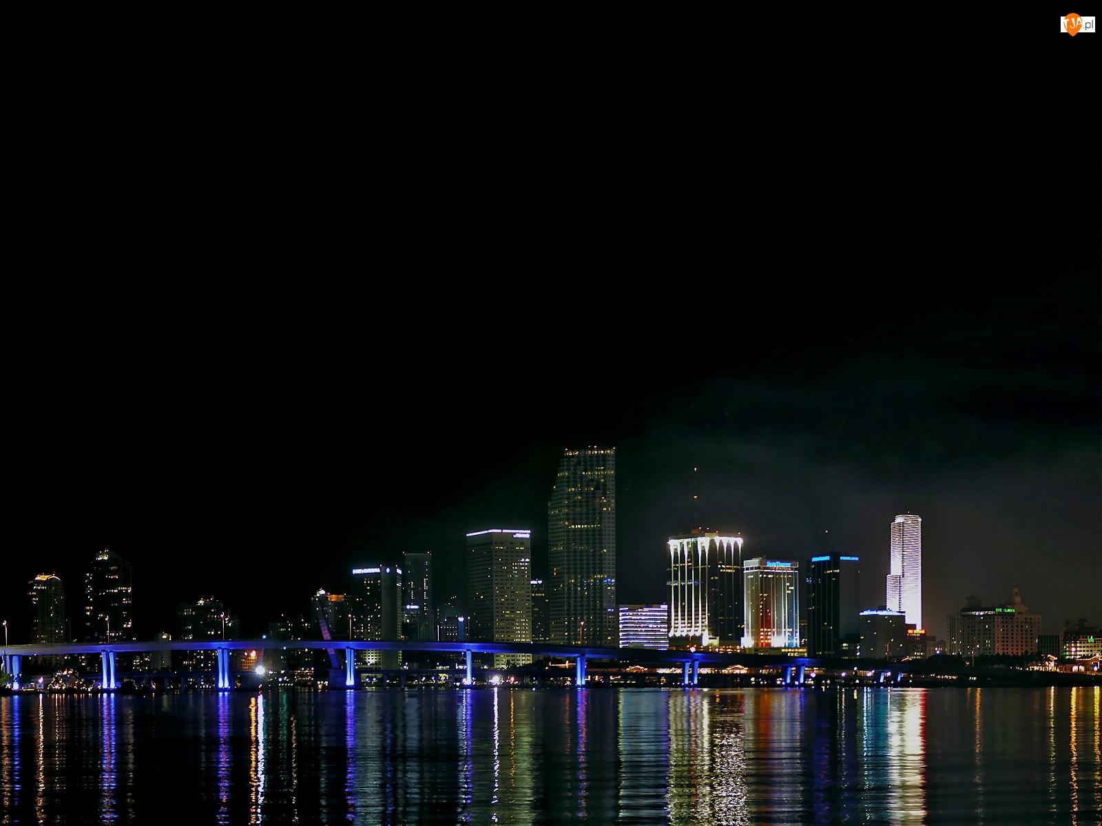 Floryda, Most, Miami, Światła