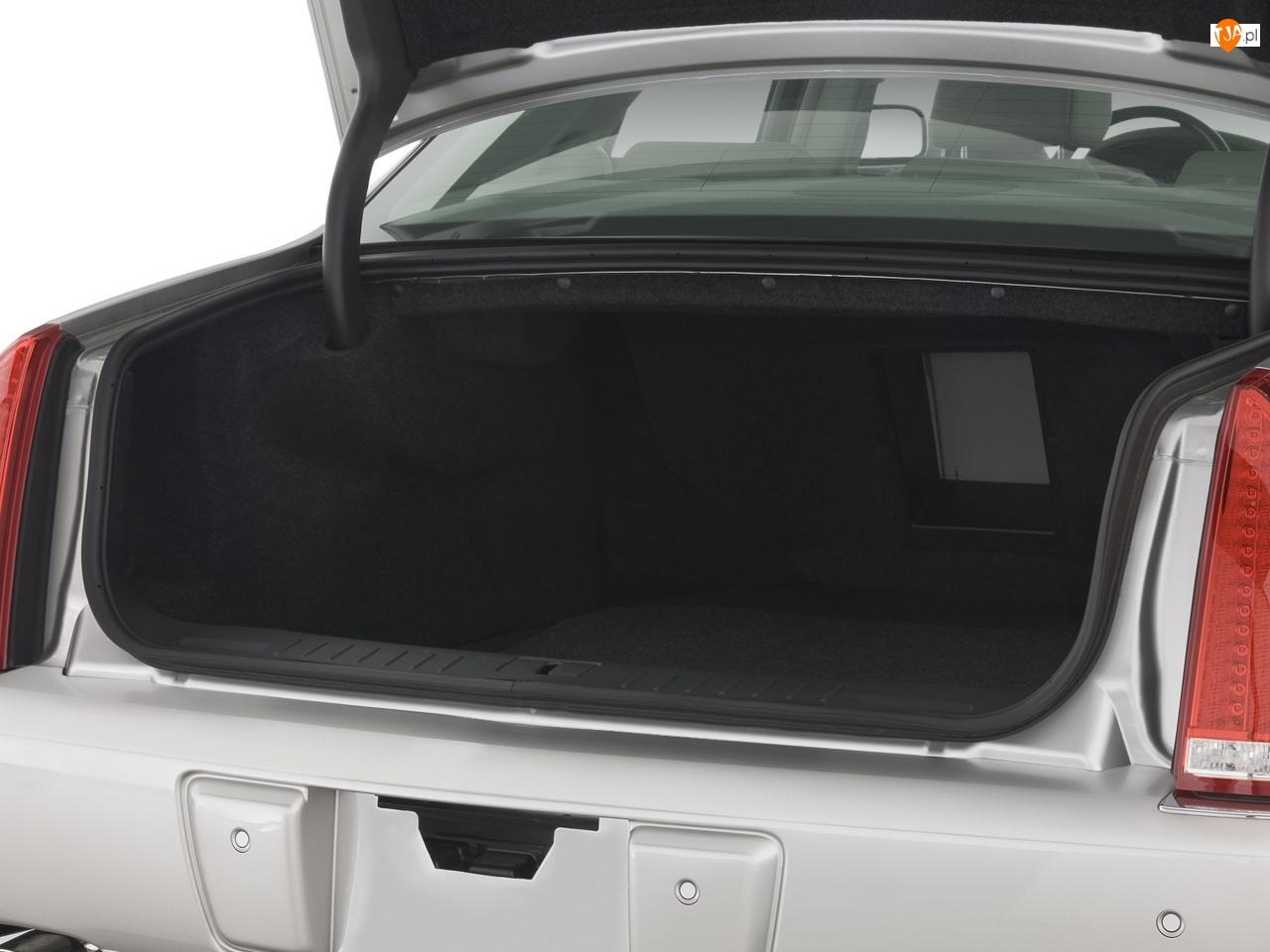 Parkowania, Cadillac DTS, Czujniki
