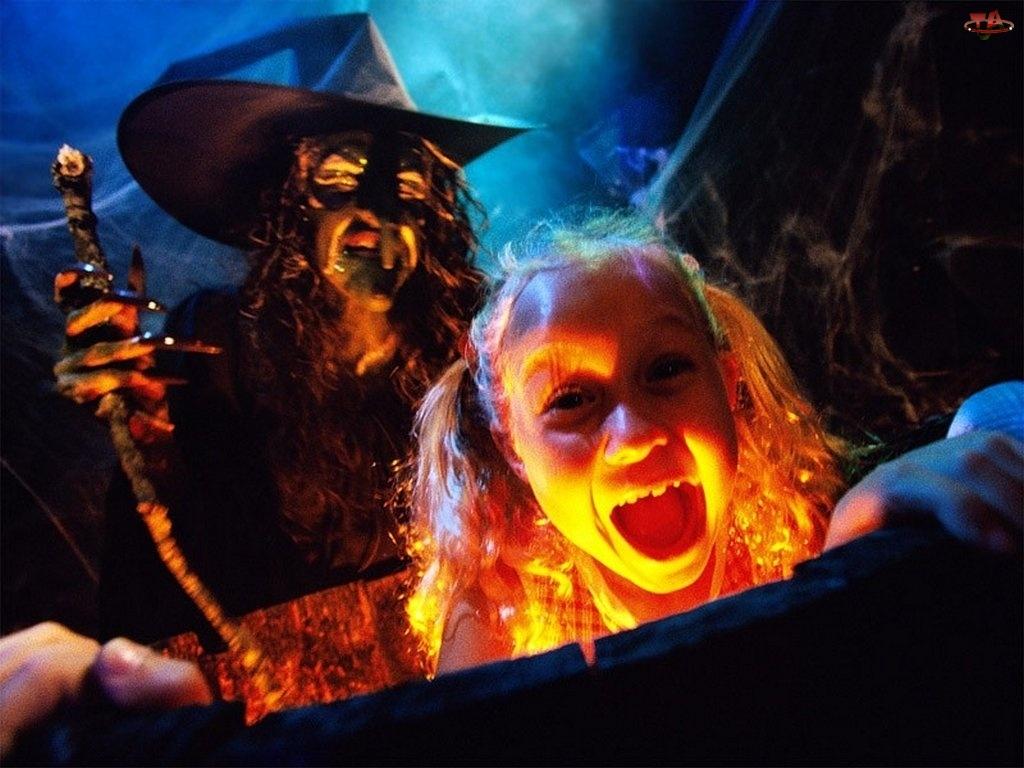 baba jaga, Halloween, Dziecko