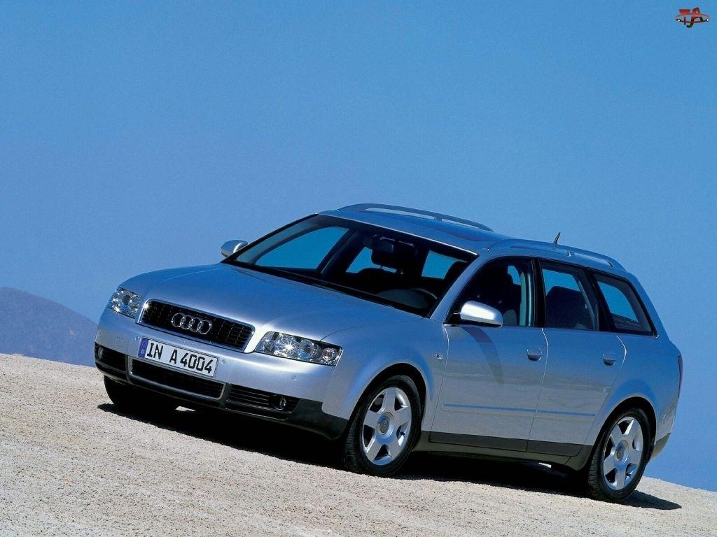 Srebrny, Audi A4, Avant