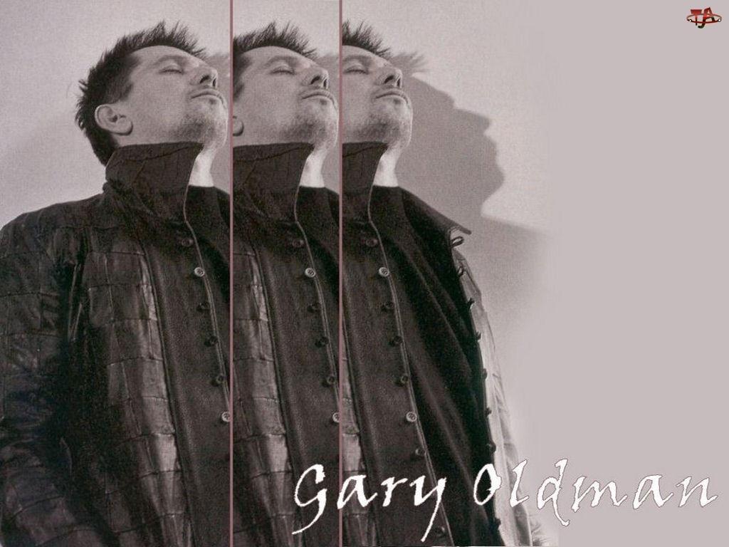 Gary Oldman, czarna kurtka