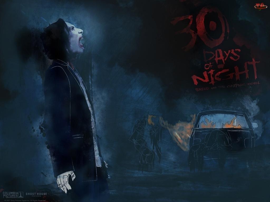 samochód, 30 Days Of Night, postać