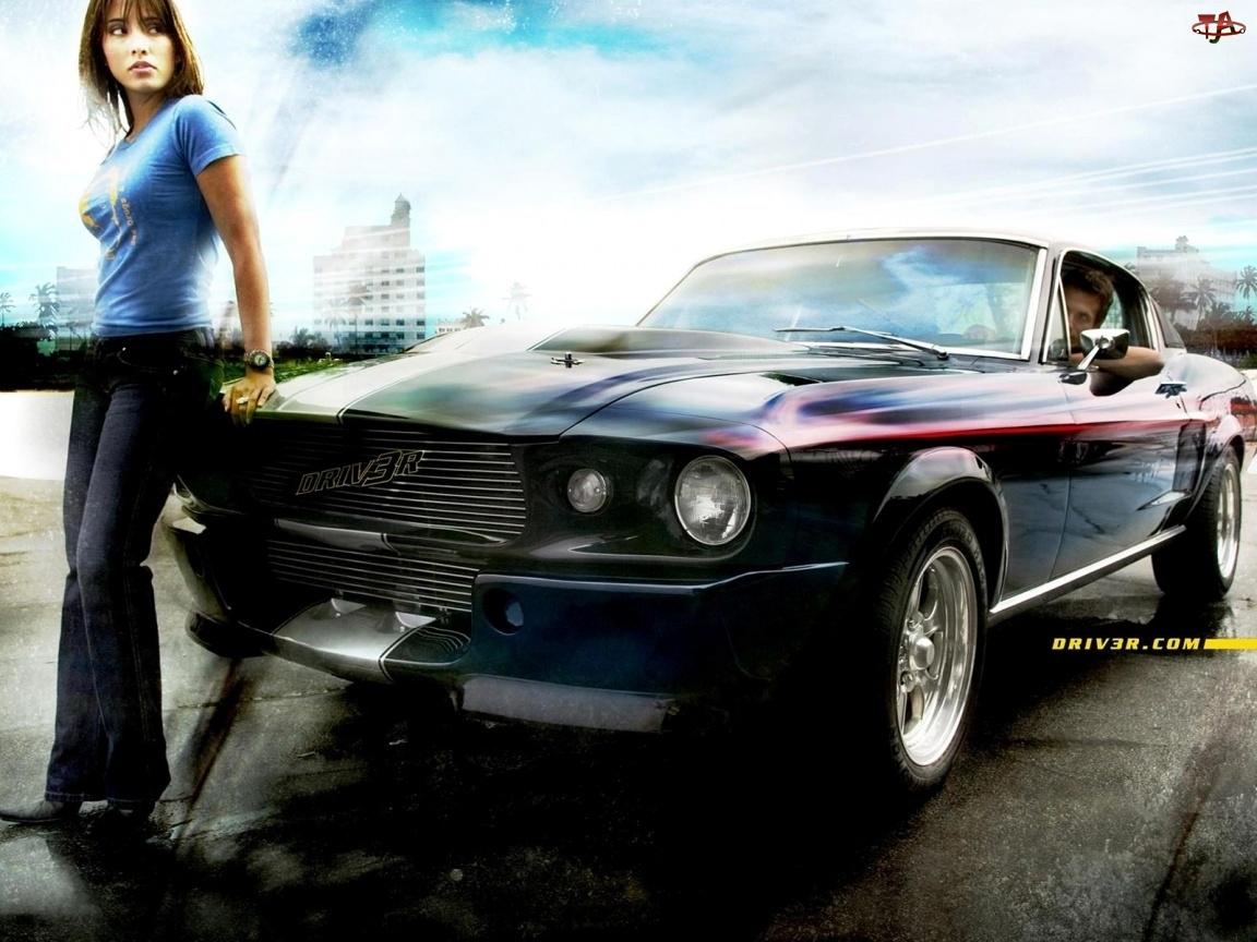 Mustang, Driver, 3, Kobieta