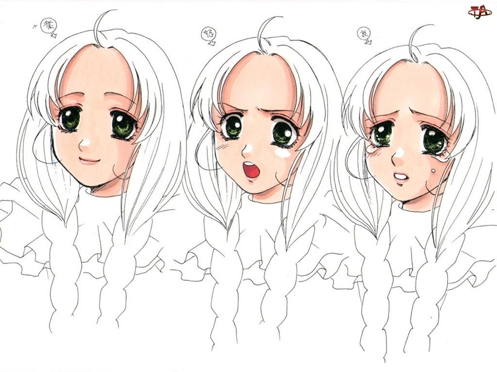 twarze, Atelier Marie, kobieta