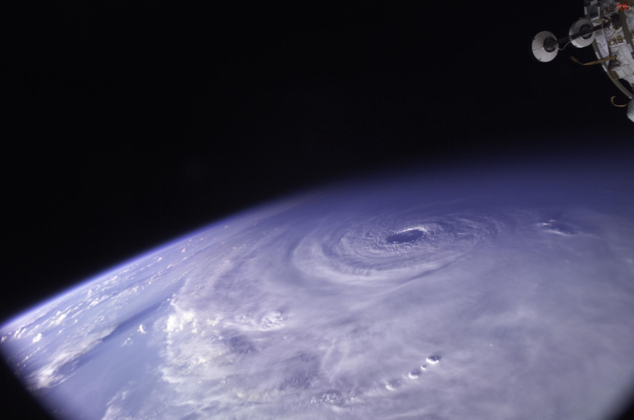 chmury, satelita