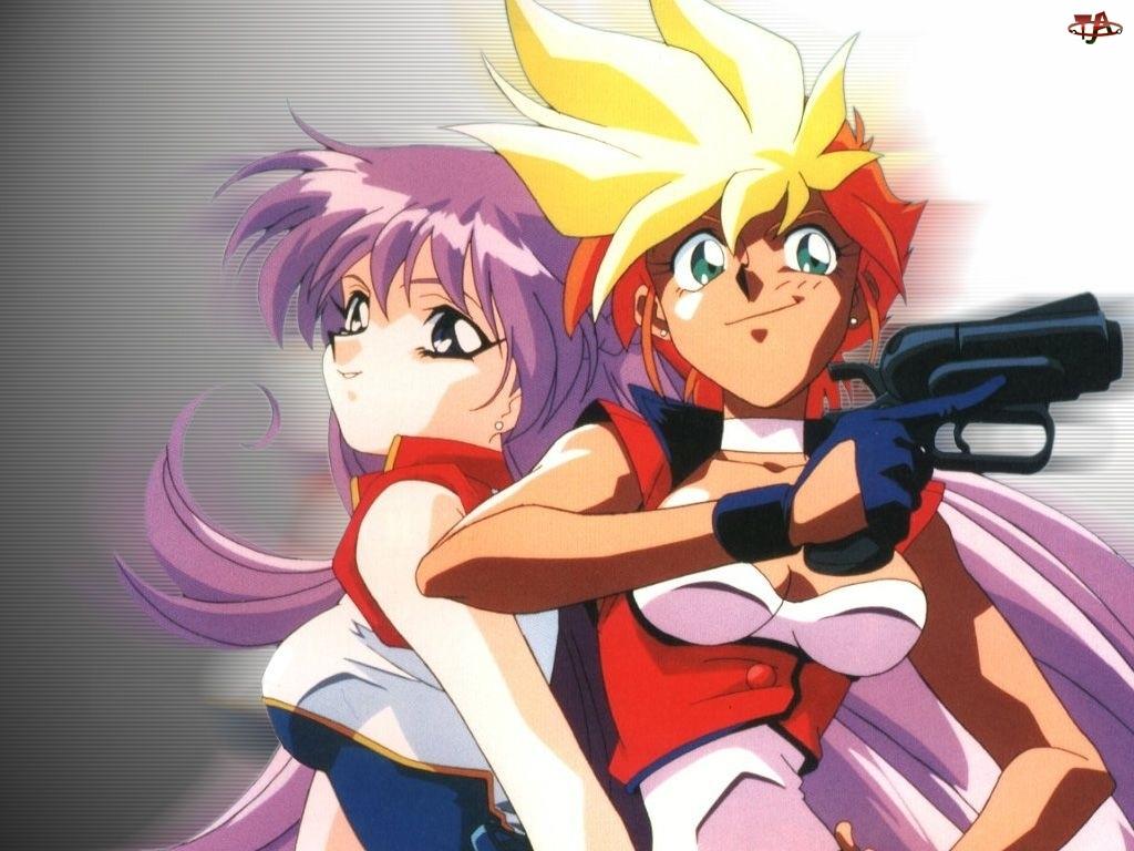 pistolet, Dirty Pair Flash, dziewczyny