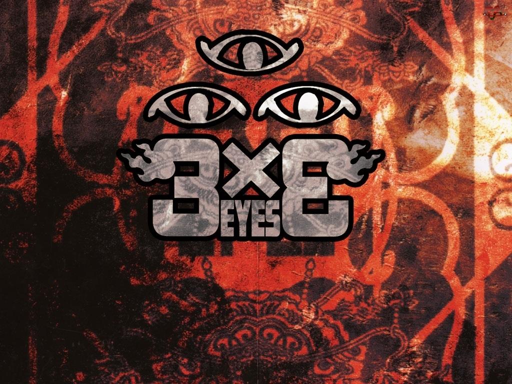logo, Manga 3x3 Eyes, symbole