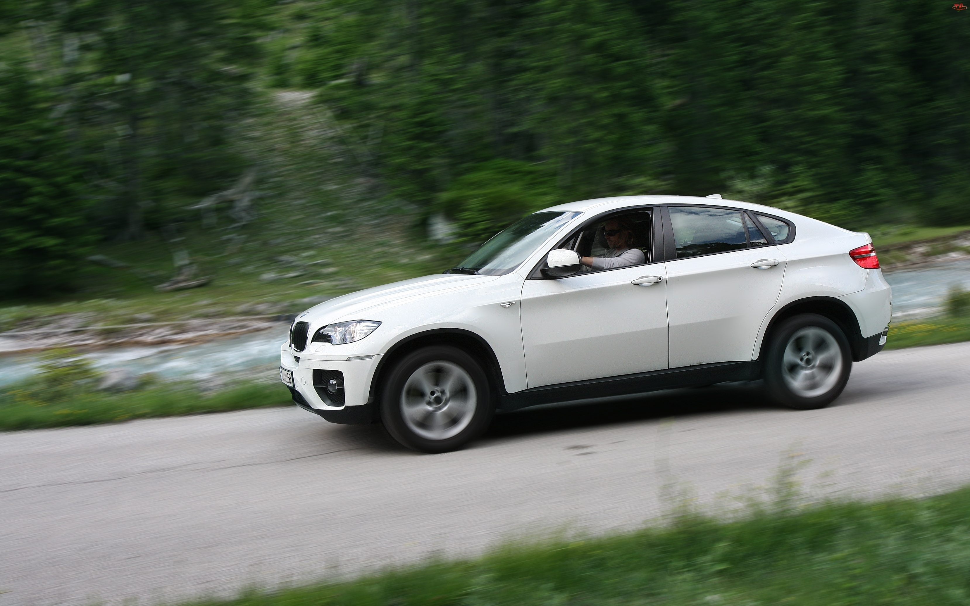 BMW X6, Kierowca
