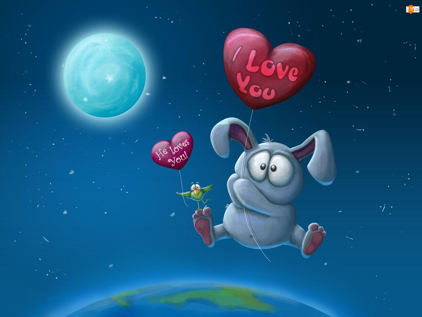 I, Balon, Love, You