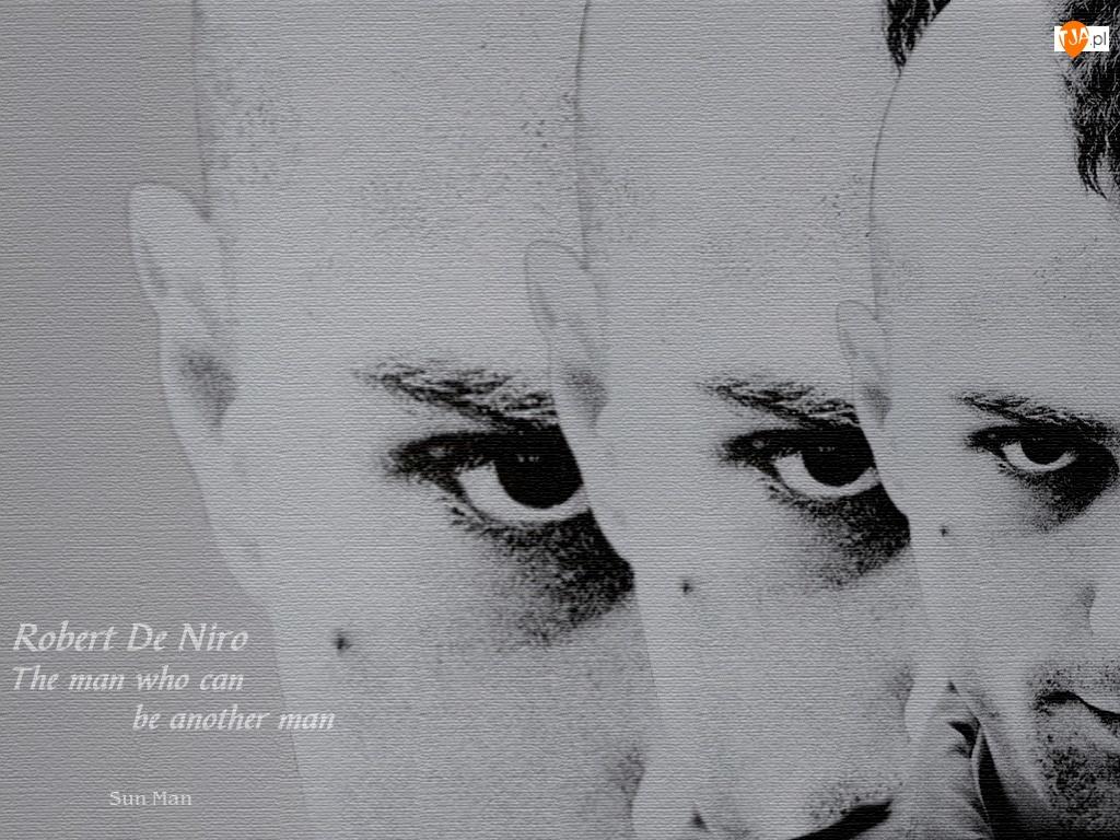 Robert De Niro, twarze