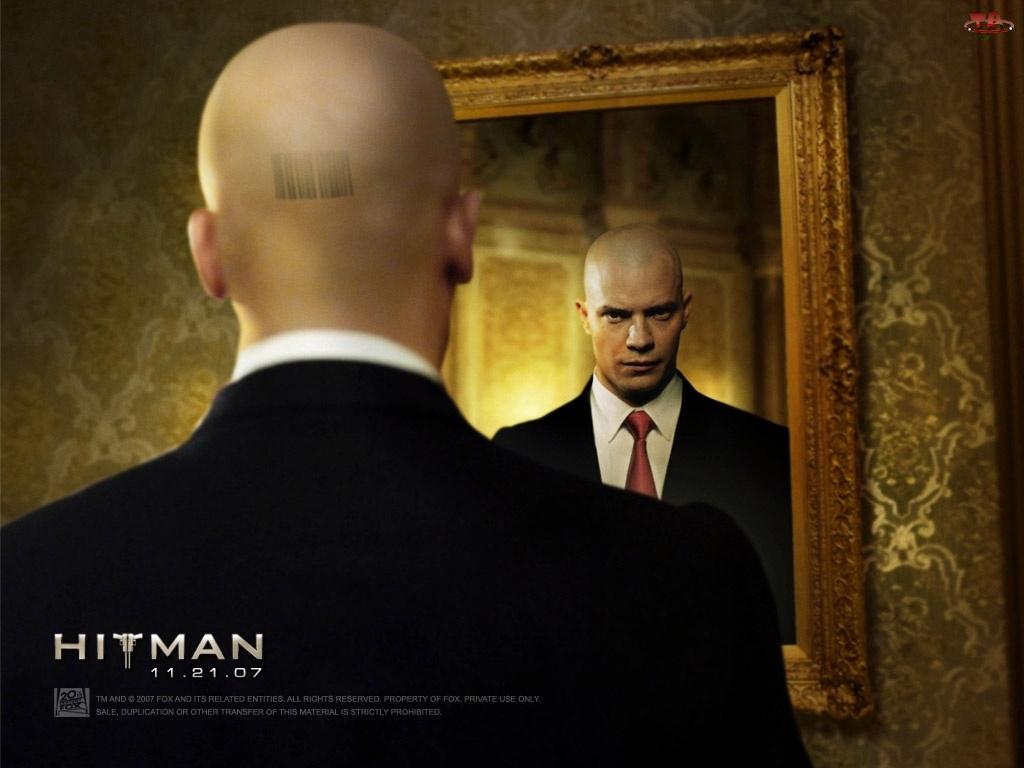 Hitman, kod, Timothy Olyphant, łysy