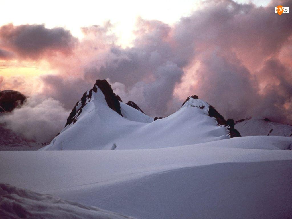 Zima, Nowa Zelandia, Góra