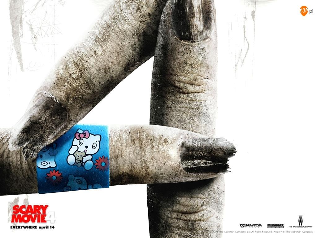 Scary Movie 4, plaster, palce, liczba