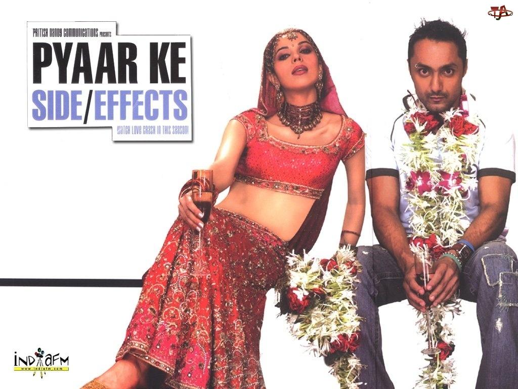 strój, kwiaty, Pyaar Ke Side Effects, hawajskie, hinduska, wino