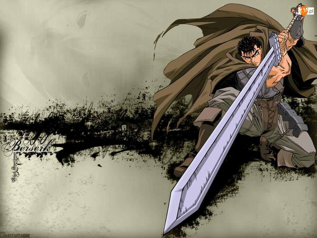 miecz, Berserk, postać