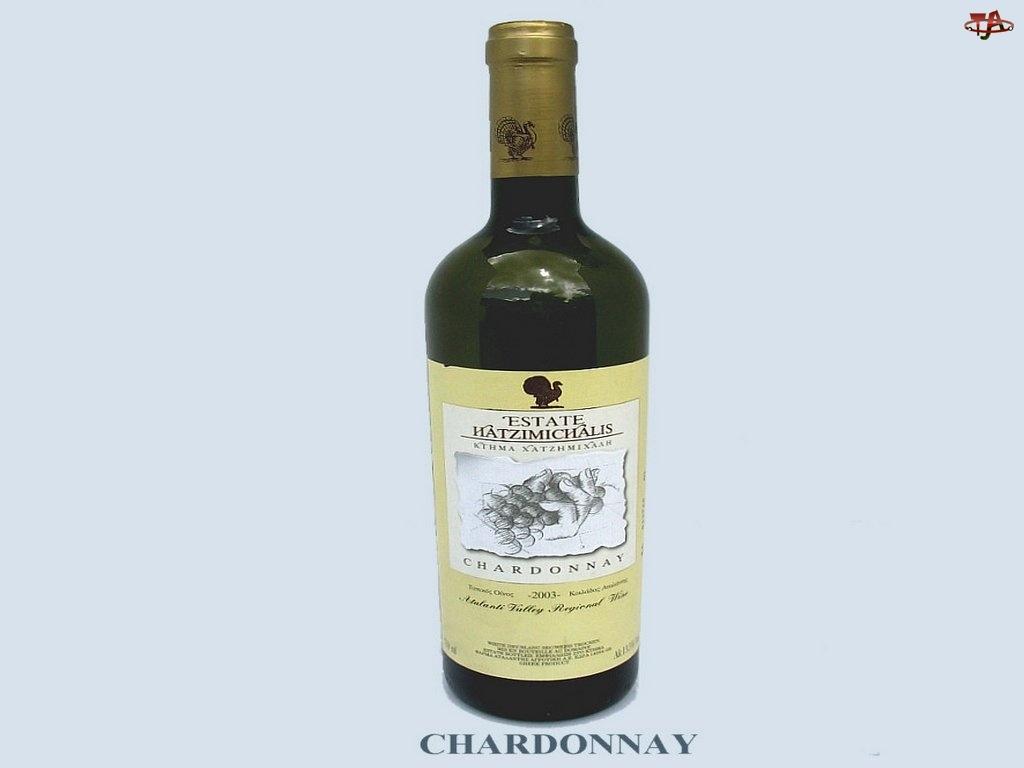 Wina, zielona butelka