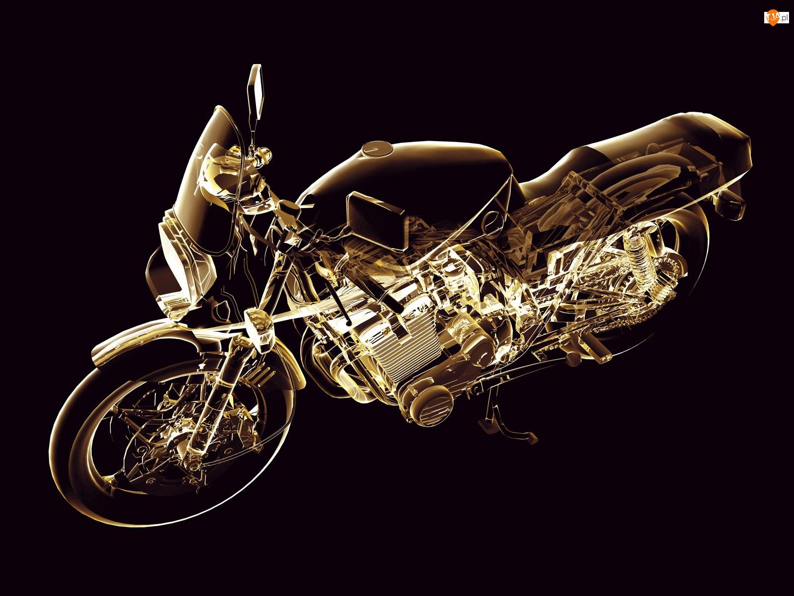 Naked, Obrys, Motocykla
