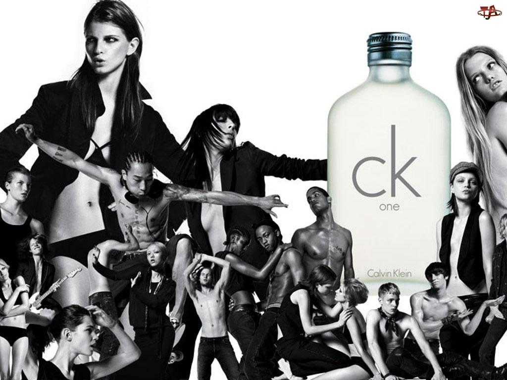 perfum, flakon, one, Calvin Klein, ck, perfumy, ludzie