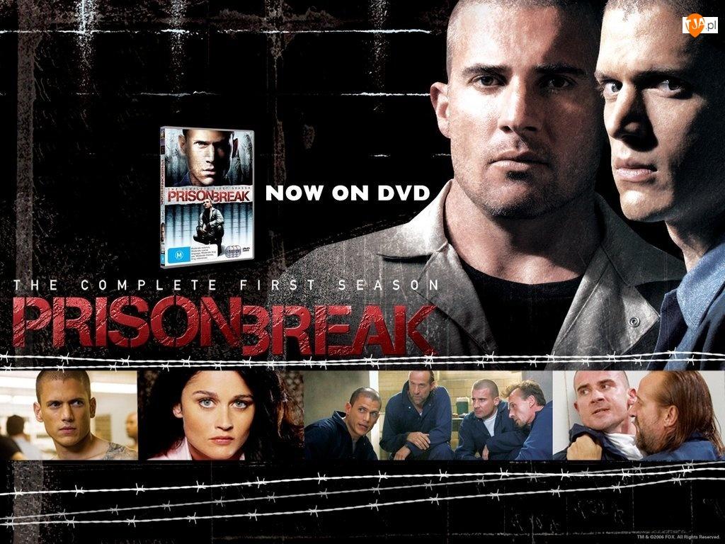 Robin Tunney, zdjęcia, Dominic Purcell, Prison Break, Wentworth Miller