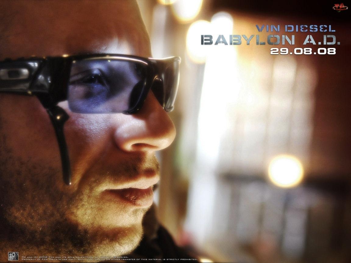 Babylon Ad, Vin Diesel, okulary