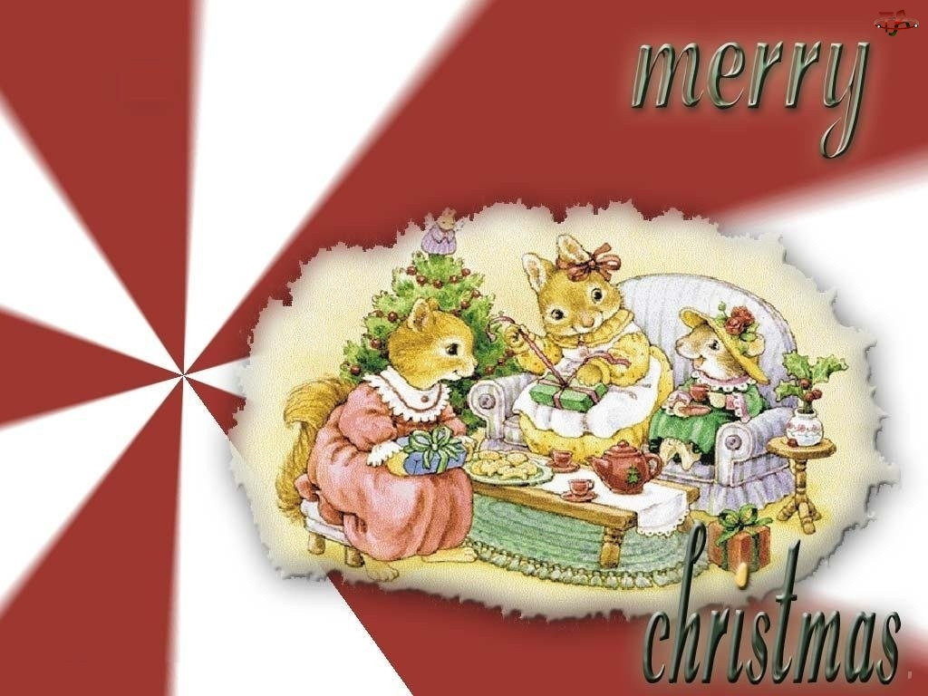 Boże Narodzenie, myszki