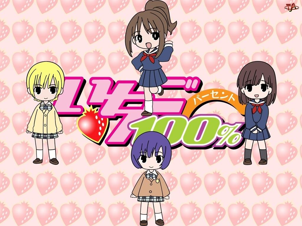 dzieci, Ichigo 100, truskawka