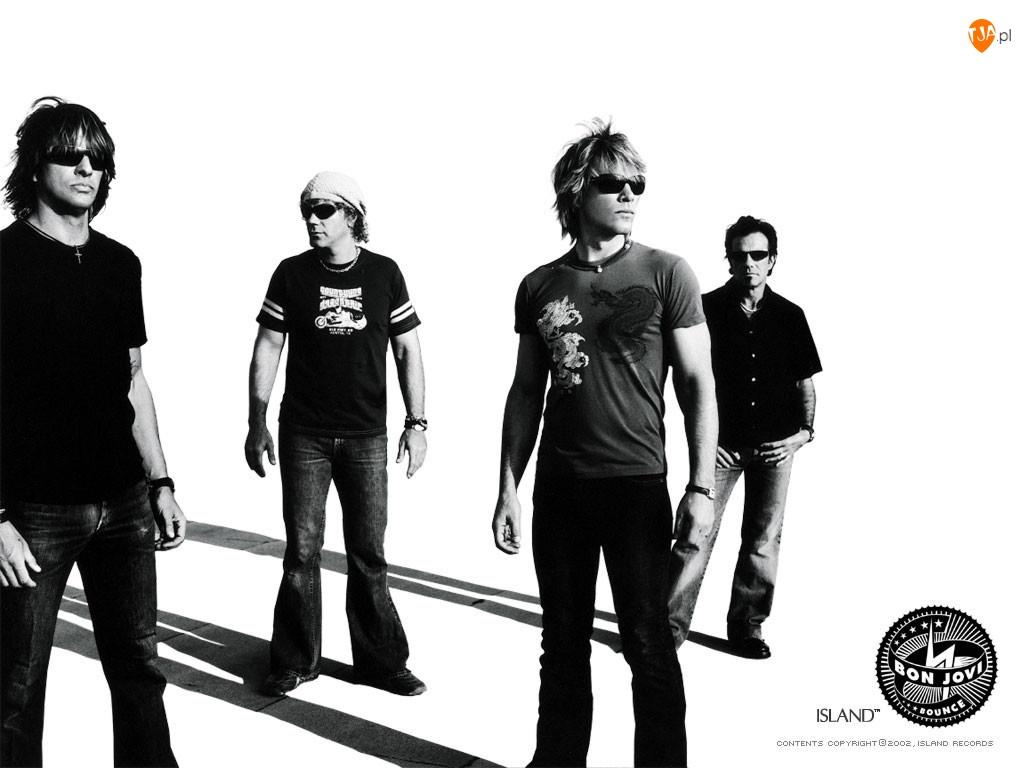 zespól cały, Bon Jovi, Island