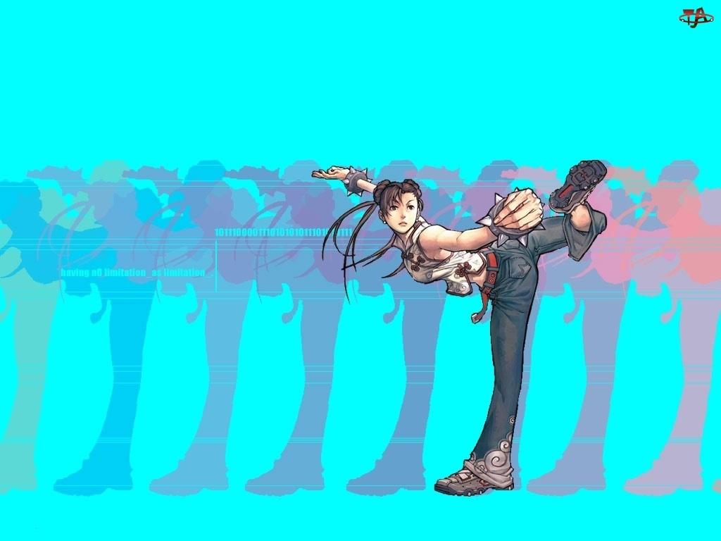 Street Fighter, dziewczyna
