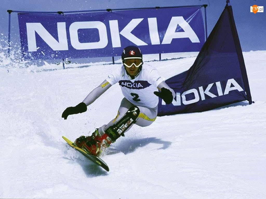Zima, Nokia, Stok, Snowboard