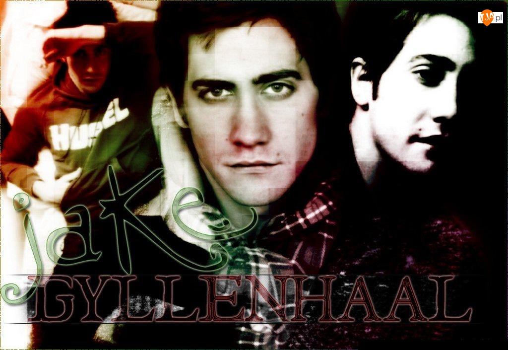 Jake Gyllenhaal, ciemne włosy