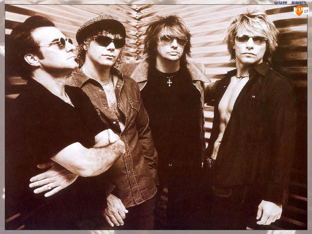 okulary, Bon Jovi, zespół