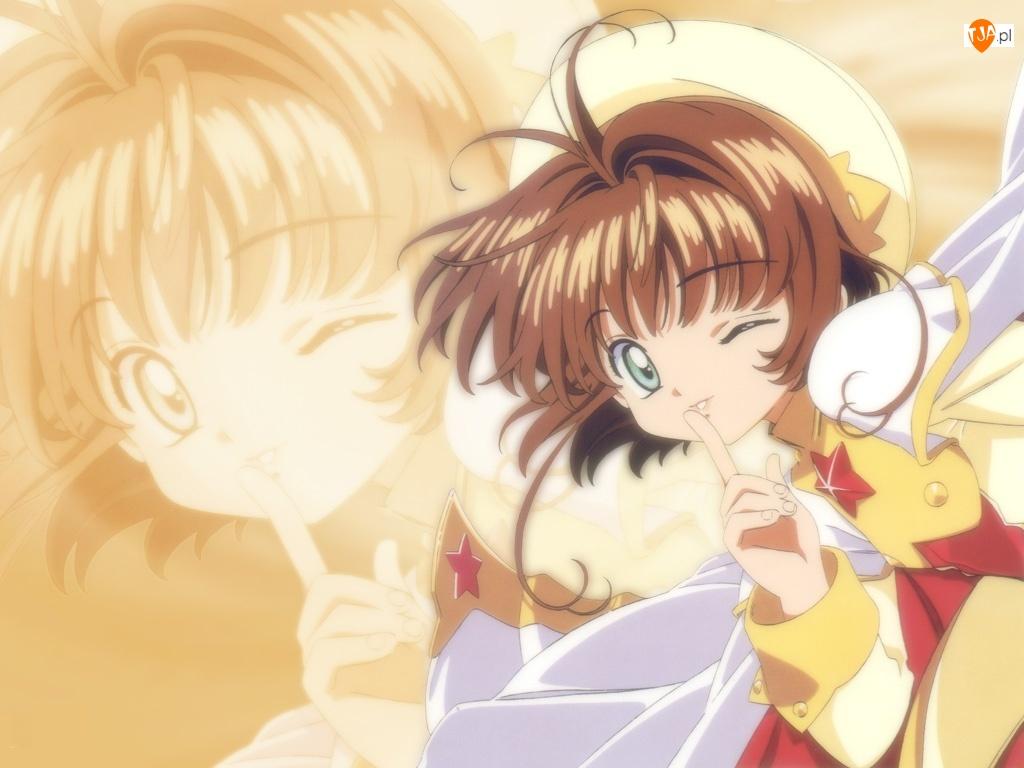 Cardcaptor Sakura, dziewczyna, postać, twarz