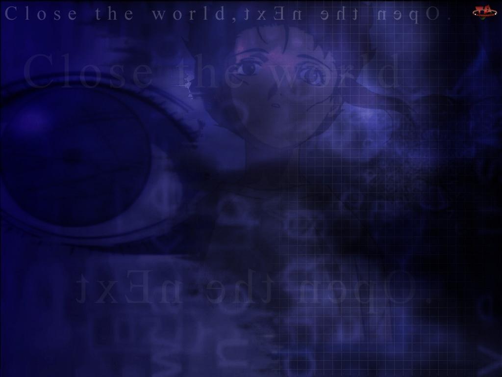 oko, Serial Experiments Lain, twarz