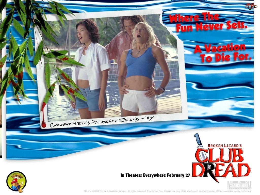Club Dread, pomost, Lucy Liu, Brittany Daniel