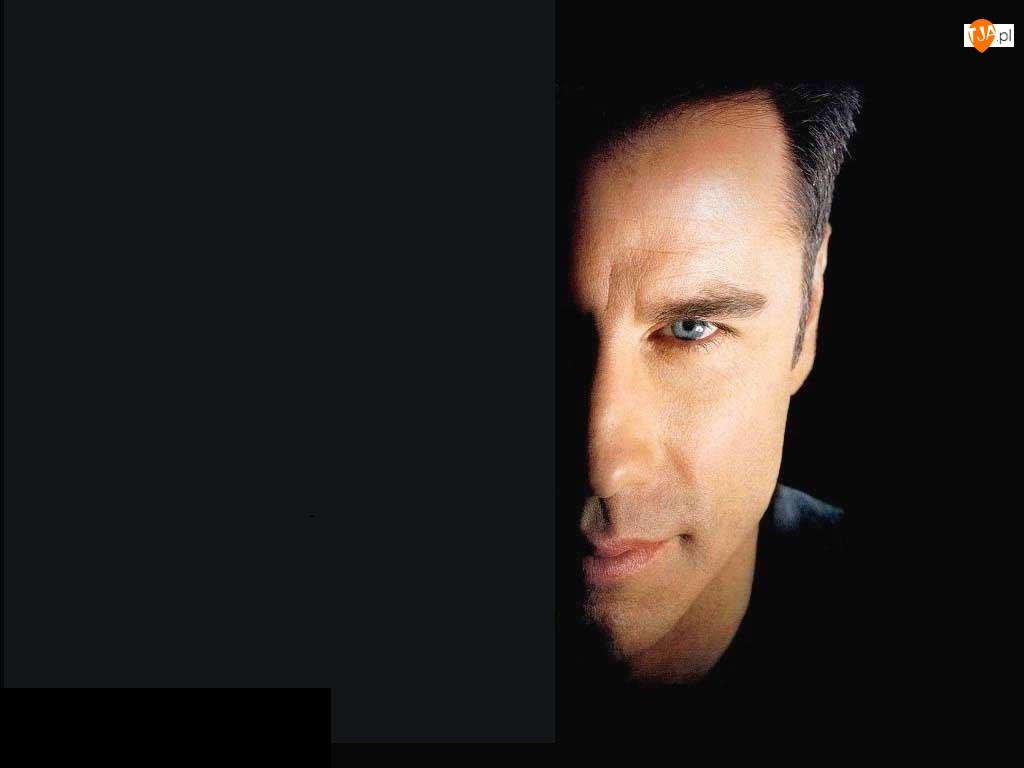 John Travolta, pół twarzy