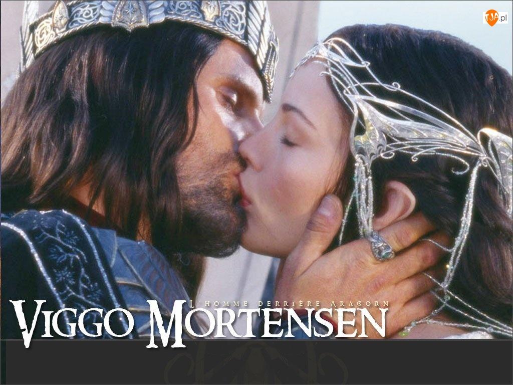 pocałunek, Viggo Mortensen, korona