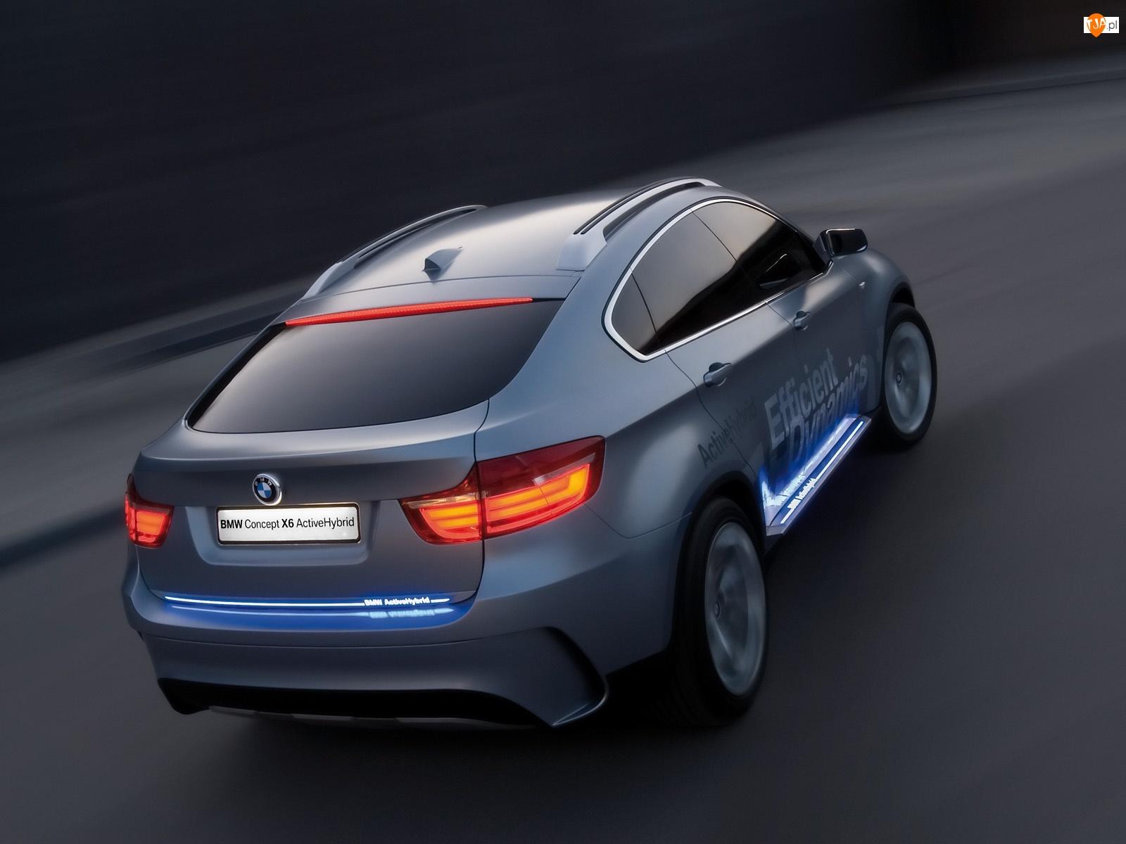 Lampy, BMW X6, Neonowe