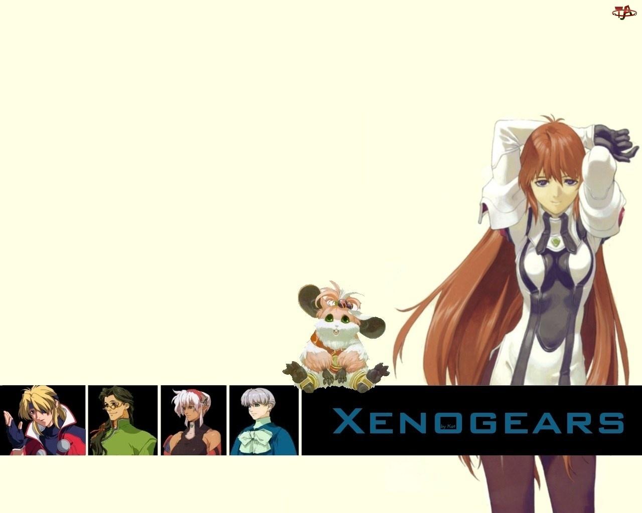 zwierzątko, Xenogears, postacie