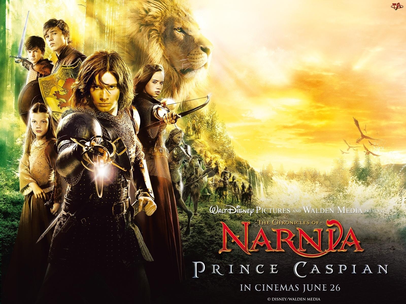 Narnia, Bohaterowie