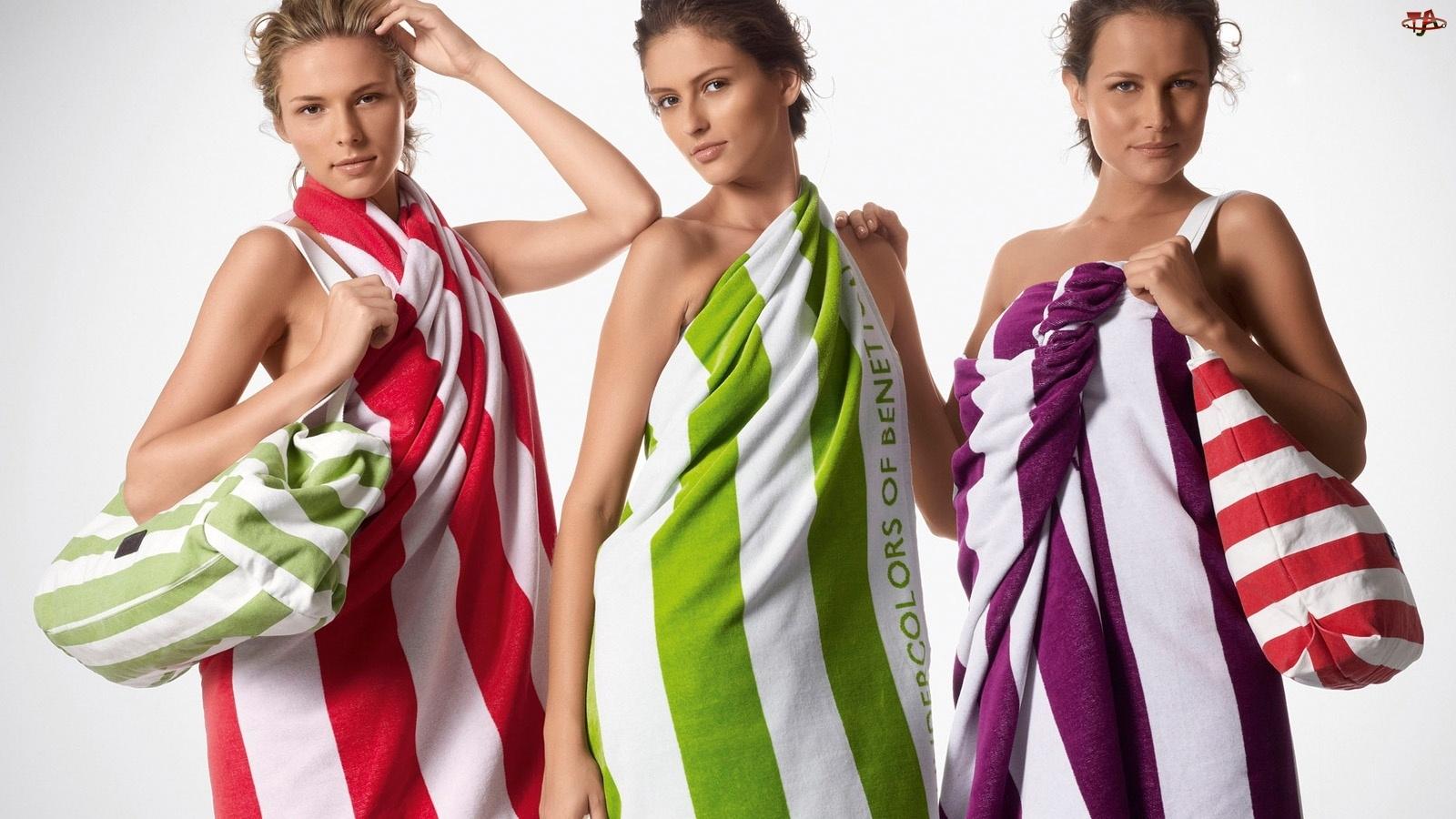 Ręczniki, Modelki, Torby
