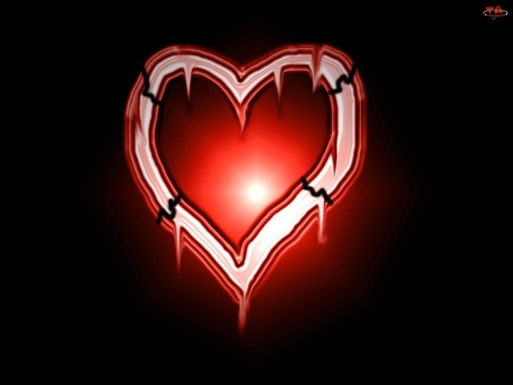 słońce, Walentynki, serce