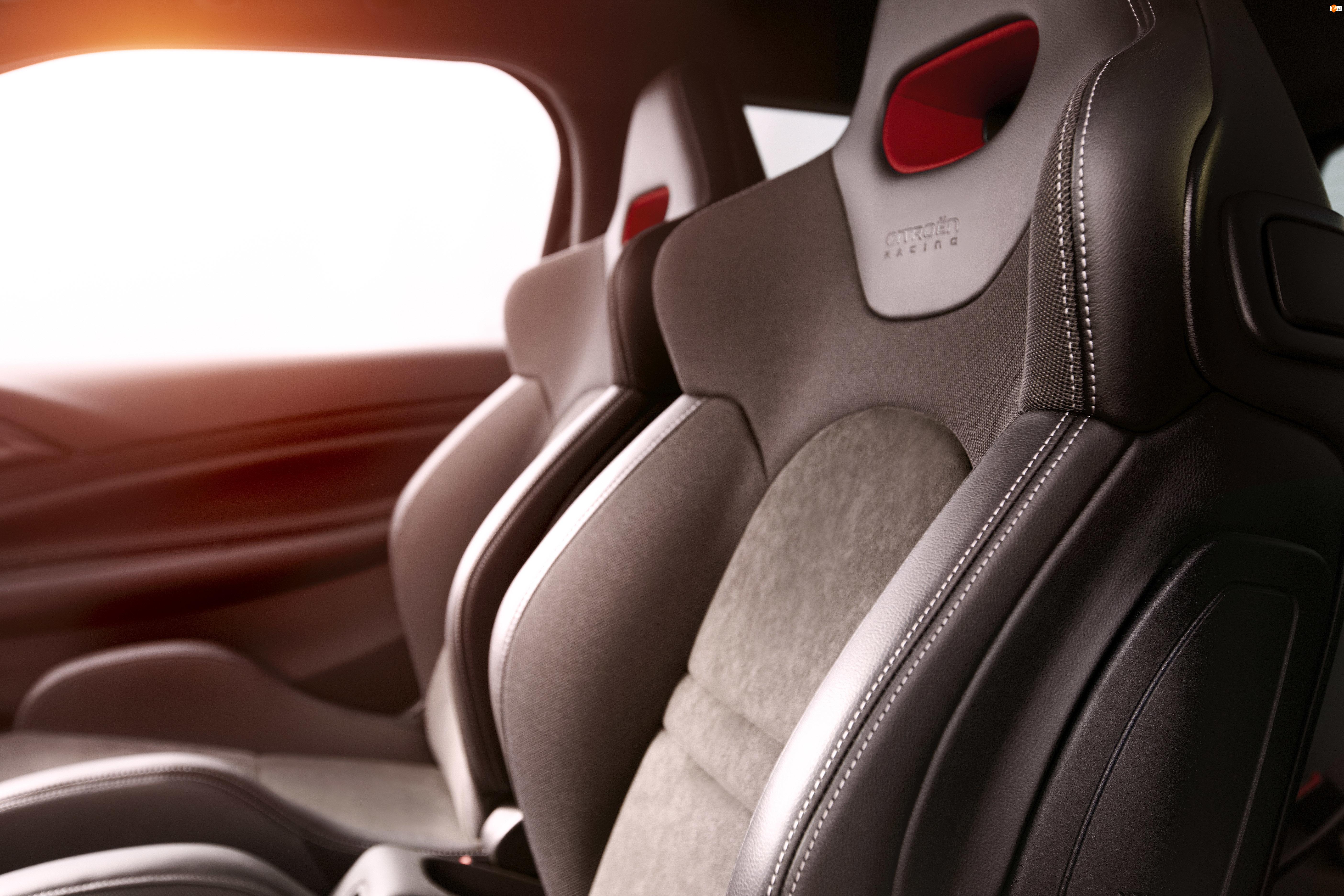 Citroen DS3, Fotele, Racing