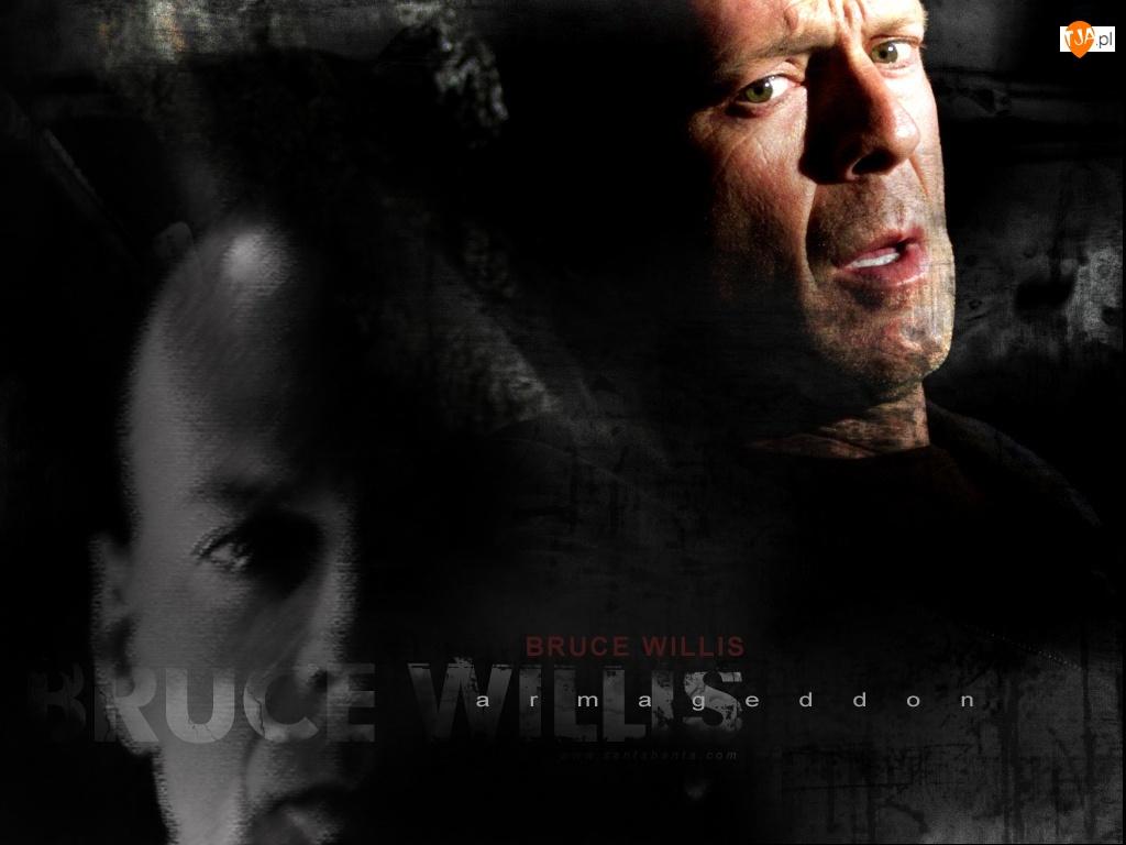 oczy, Bruce Willis, zielone