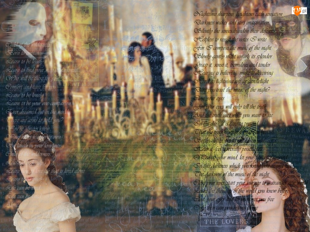 Phantom Of The Opera, napisy, Emmy Rossum, Gerard Butler