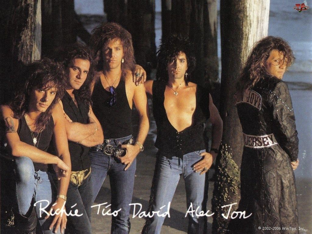 David, Richie , Bon Jovi, Alen, Tom , Tico