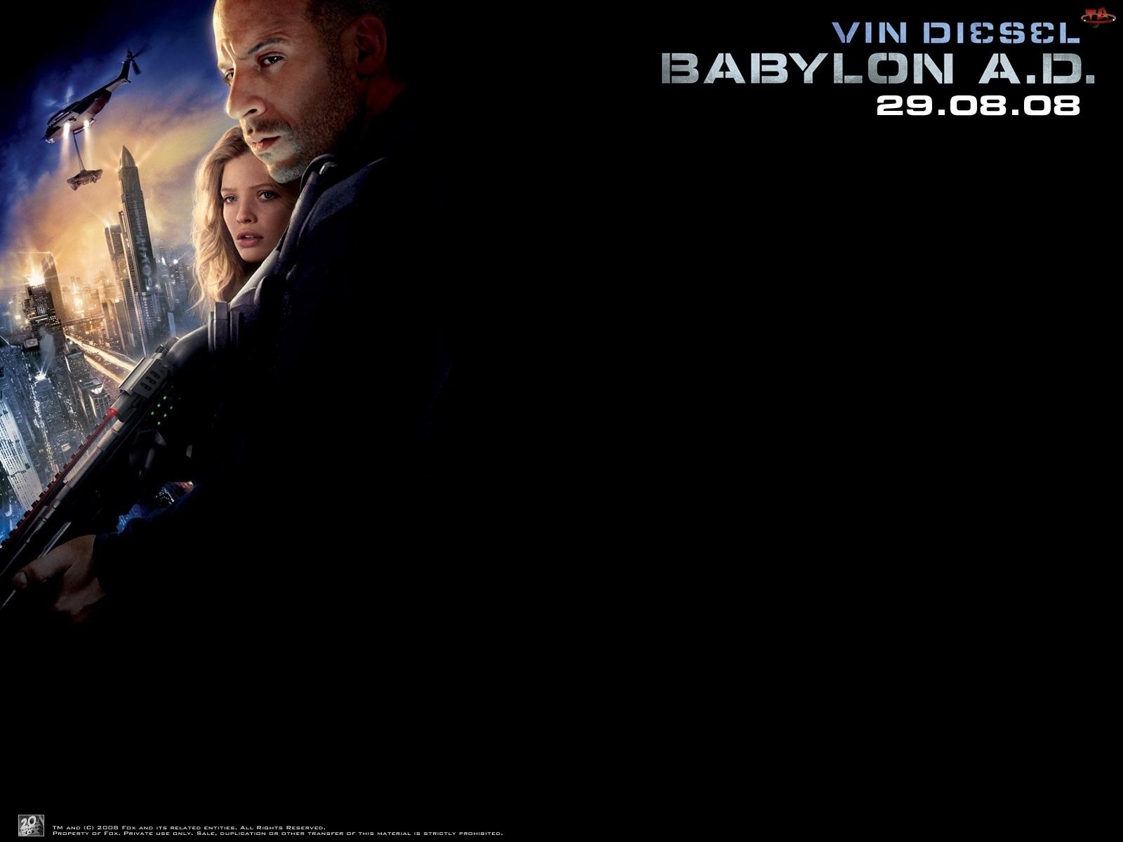 Babylon Ad, miasto, Vin Diesel, Melanie Thierry