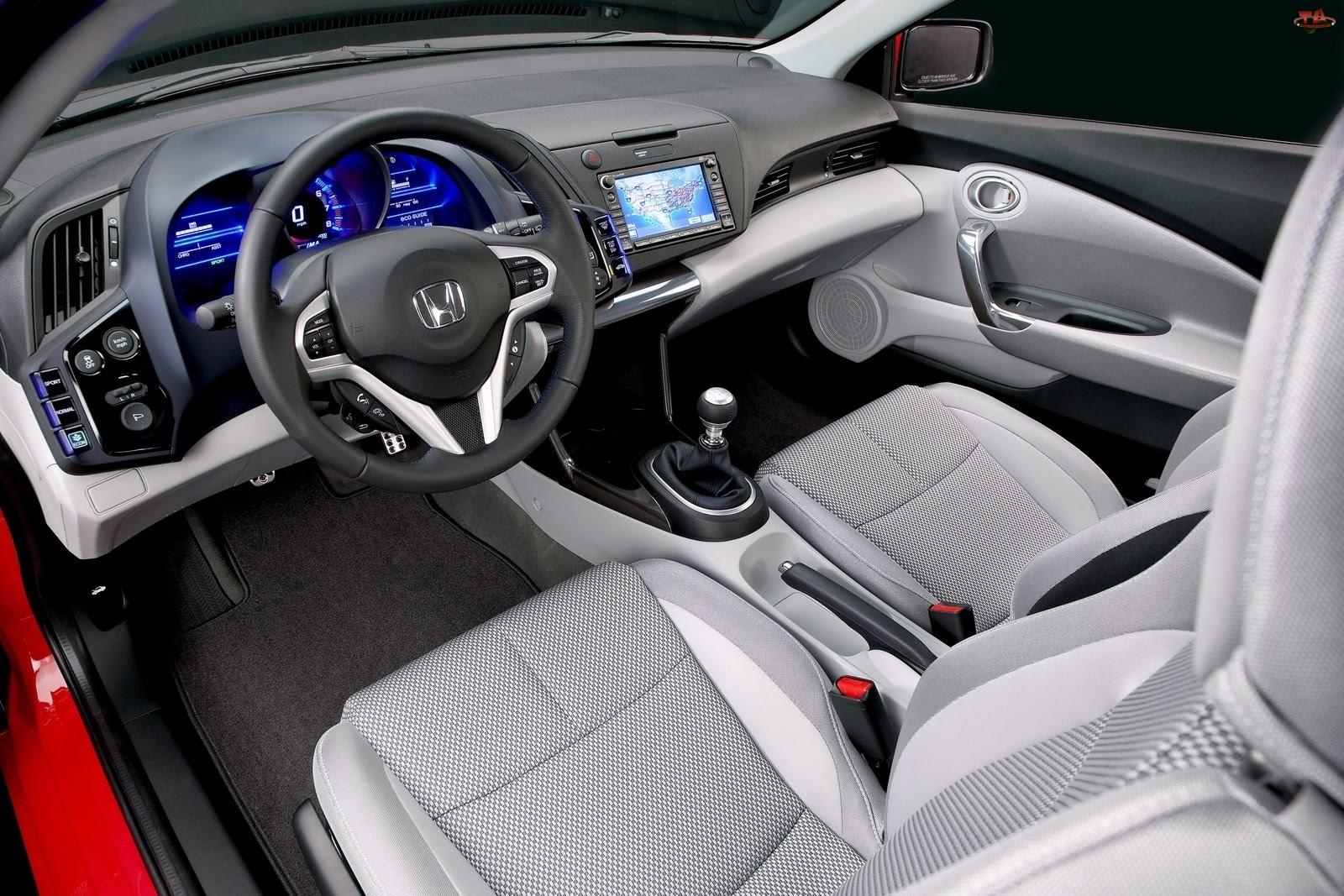 Honda CR-Z, Kierowcy, Nawigacja, Fotel