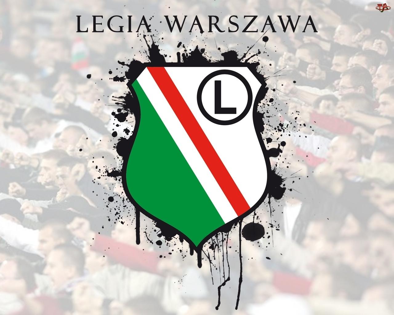Herb, Legia Warszawa, Kibice