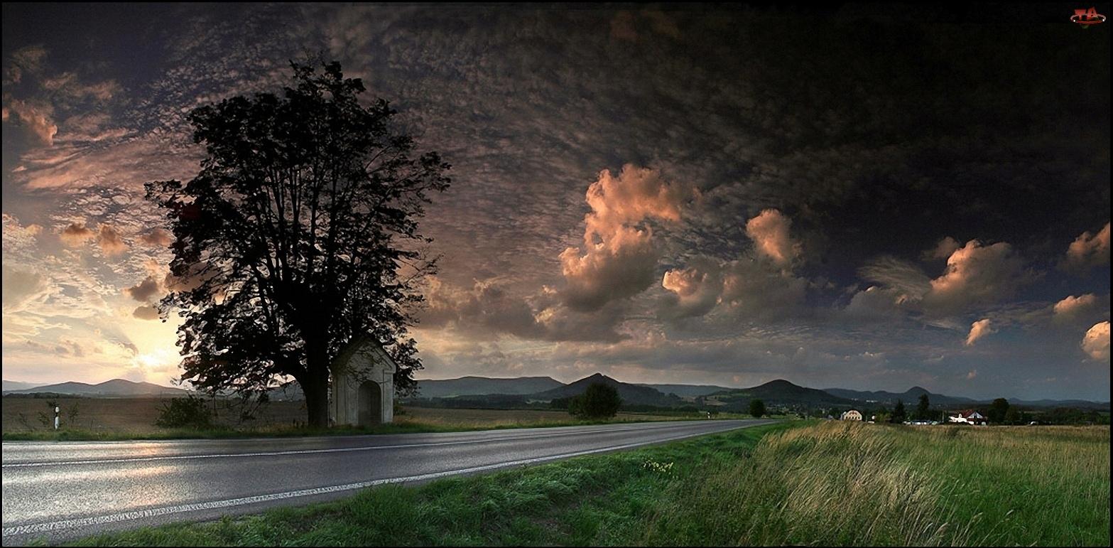 Chmury, Droga, Kłębiaste